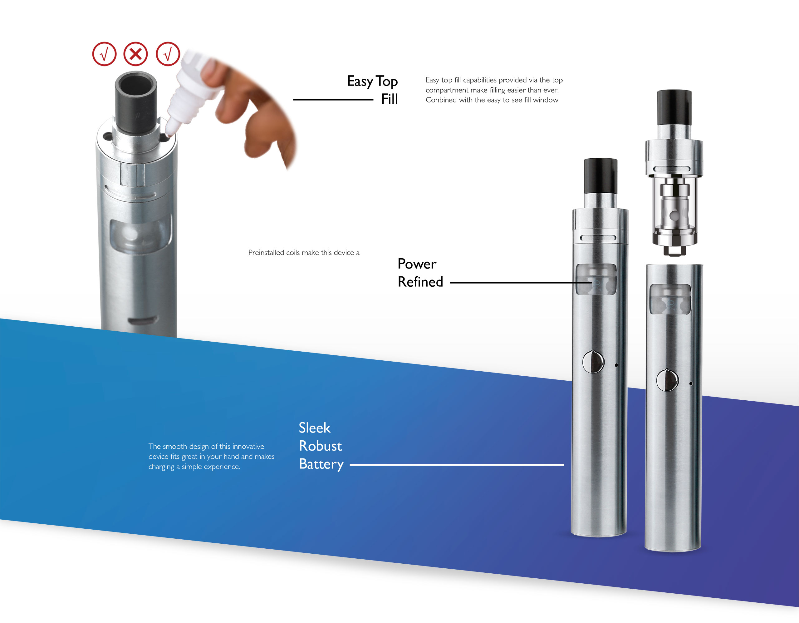 XO Unity Vape Kit - Usage Guide
