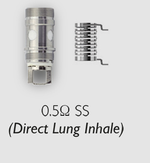 0.5 ohm direct to lung XO coil