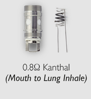 0.8 ohm mouth to lung XO coil