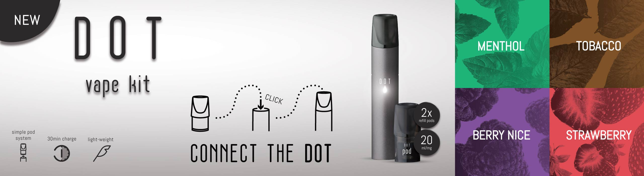 Introducing The New Dot Vape Kit