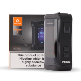 View Geek Vape Aegis X 200W TC Mod Product Range