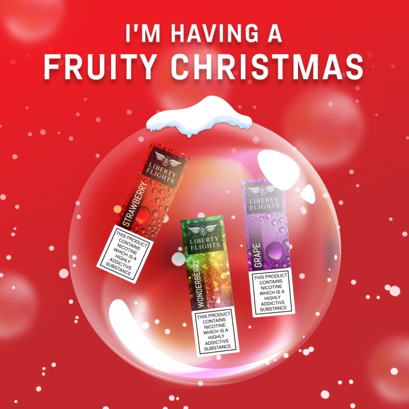 I'm having a fruity Christmas E Liquid
