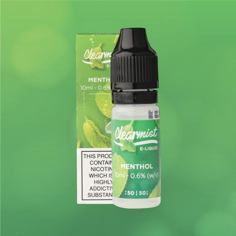 Menthol Clearmist E-liquid