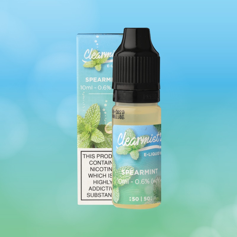 Spearmint Clearmist E-liquid