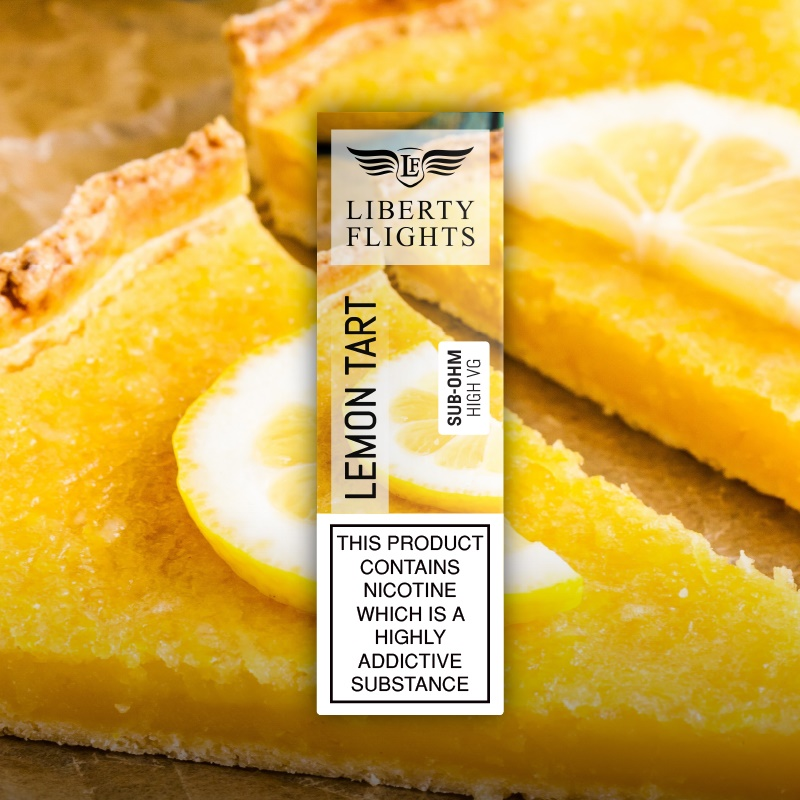 Lemon Tart VG E Liquid