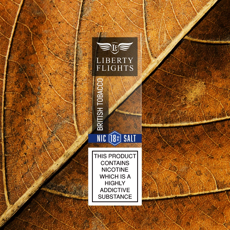 British Tobacco Nic Salt E Liquid