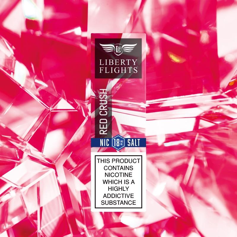 Red Crush Nic Salt E Liquid