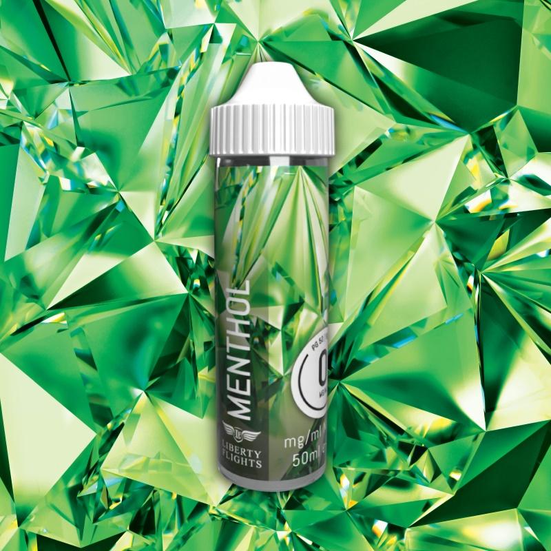 Menthol E Liquid - 50-50 Short Fill