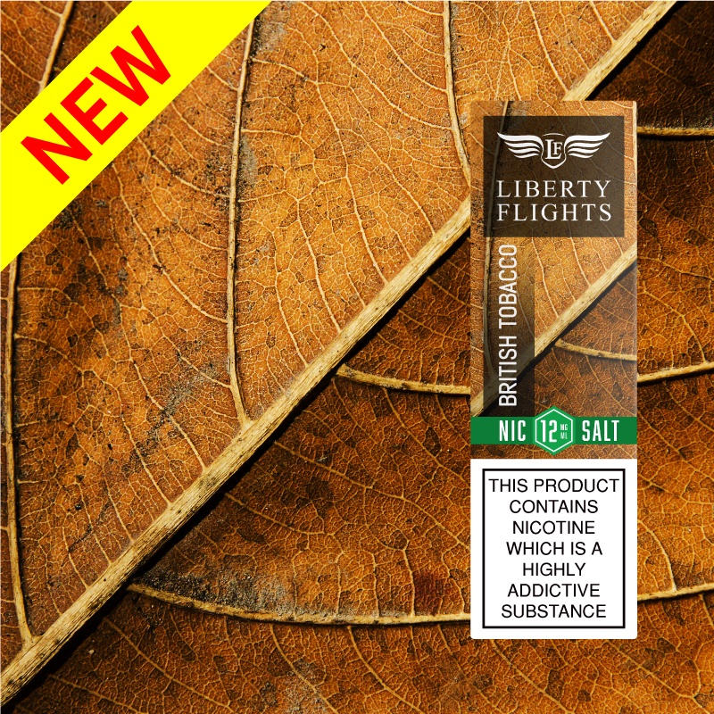 British Tobacco Nic Salt E Liquid