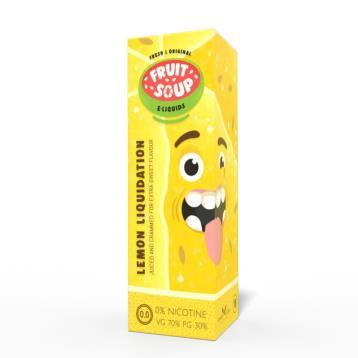 Lemon Liquidation - Fruit Soup 100ml Short Fill