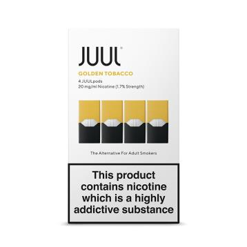 JUULpods UK Golden Tobacco - JUUL Starter Kit