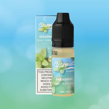 Spearmint Clearmist E-liquid - Clearmist E Liquid