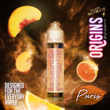Puris - Short Fill - Origins Short Fill E Liquid