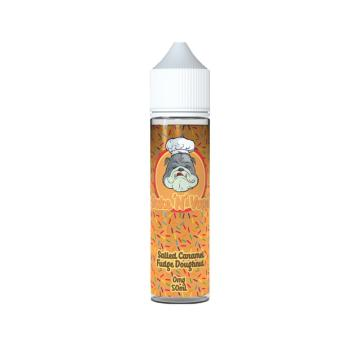 Salted Caramel Fudge Doughnut - Bake N Vape Short Fill E Liquid