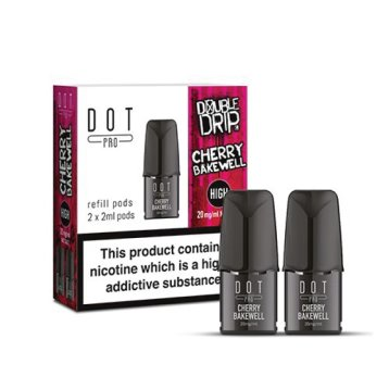 DOT PRO Refill Pods - Double Drip Cherry Bakewell